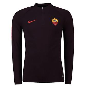 2018-2019 AS Roma Nike Training percer Top (Bourgogne)