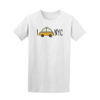 New York City Taxi Cab Tee. Mænds-billede af Shutterstock