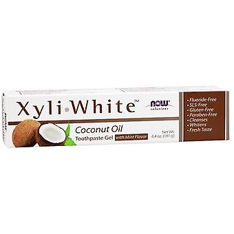 Now Foods XyliWhite Coconut Oil Toothpaste Gel 181 gr