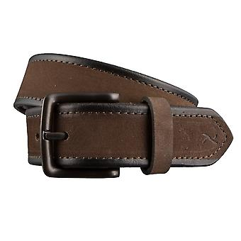 Cintura BRAX cinture maschile Cinture in pelle marrone 3049
