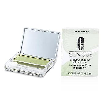 Clinique All About Shadow - # 2A Lemongrass (Soft Shimmer) - 2.2g/0.07oz