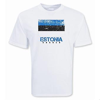 Эстонии Футбол футболку
