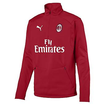 2018-2019 AC Milan Puma Training Fleece (Chilli Pepper)