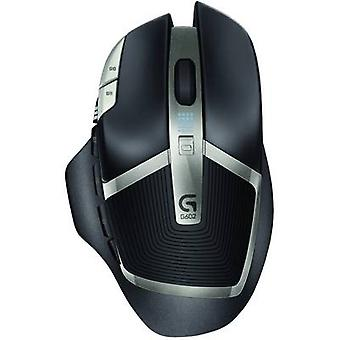 Logitech Gaming G602 Wireless gaming mouse Optical Black