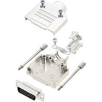 D-SUB pin strip set 180 ° Number of pins: 26 Solder bucket encitech MHDM-15-HDP26-K 1 Set