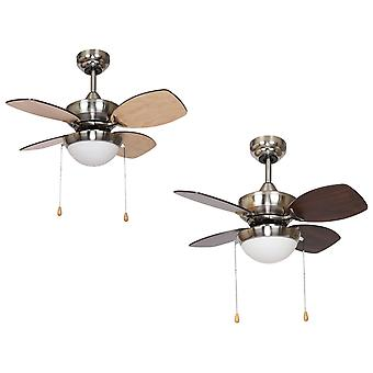 Ceiling Fan Kompact Nickel 71cm / 28