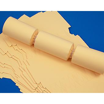 100 Cream Make & Fill Your Own Cracker Boards - Bulk Buy