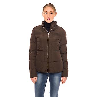 Coat & Jacket Brown Exver Maiolo Trussardi Collection Woman