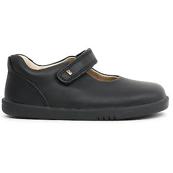 Bobux I-walk Girls Delight School Shoes Black