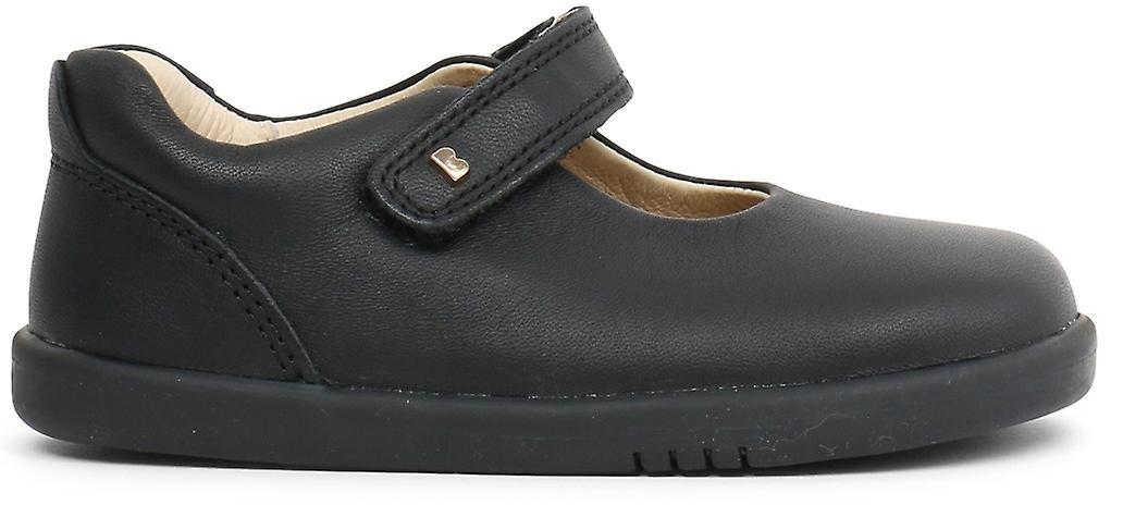 Bobux-walk filles Delumière école chaussures noir