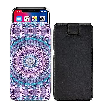 Mandala Henna Custom Designed Printed Pull Tab Pouch Phone Case Cover for verykool SL5565 Rocket [L] - MH07_web