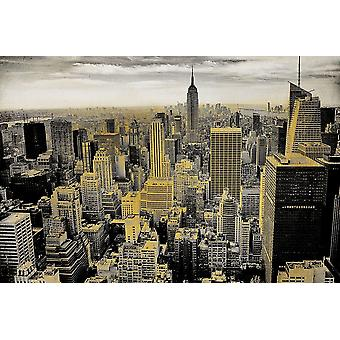 Manhattan Poster trykk av Allen Kimberly