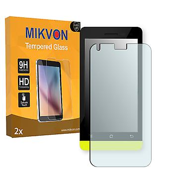Accent Cameleon A1 Screen Protector - Mikvon flexible Tempered Glass 9H (Retail Package with accessories)