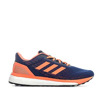 Herren Adidas Response Laufschuhe In Navy Orange