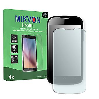 Medion Life E4004 (Version 2013) Screen Protector - Mikvon Health (Retail Package with accessories)