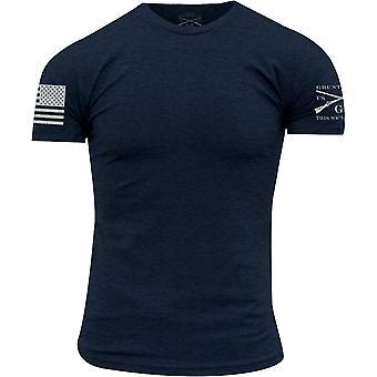 Grunt Style Basic Crewneck T-Shirt - Navy