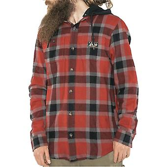 Armada Red Chilli Reading Flannel Hoody