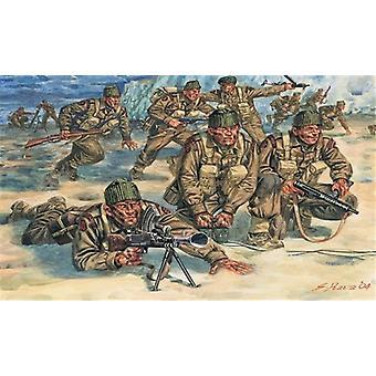 Italeri 1: 72 WO2 Britse commando's troepen.