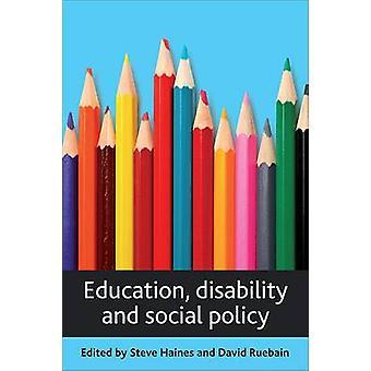 Educación - discapacidad y Política Social - libro 9781847423368