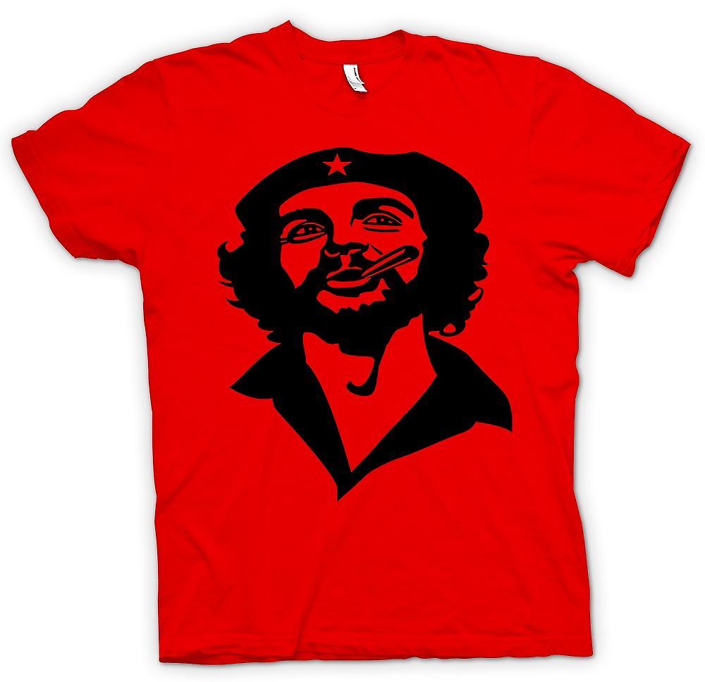 Mens t-shirt-Che Guevara sigaro di fumo