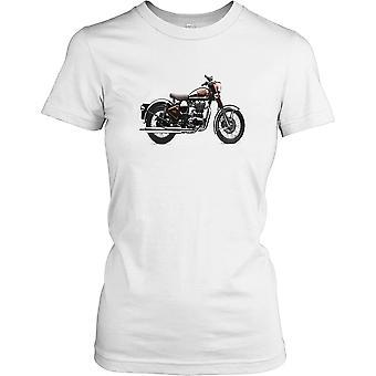 Royal Enfield UCE500 motorfiets - klassieke fiets dames T Shirt