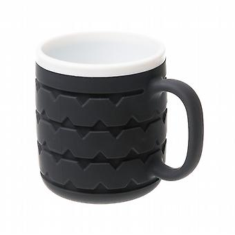 Wrenchware Car Wheel Tyre Mug - White Wall