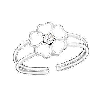 Flor - anillos de plata esterlina 925 - W1069X
