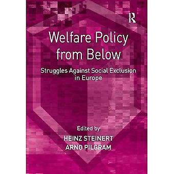 Política de assistência social de baixo para cima: as lutas contra a exclusão Social na Europa