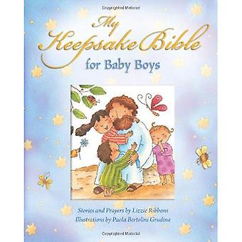 My Baby Keepsake Bible for Baby Boys