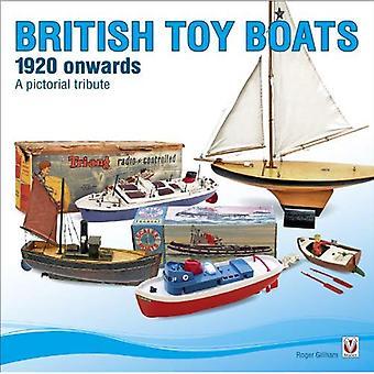 British Toy bateaux 1920 partir: un hommage pictural