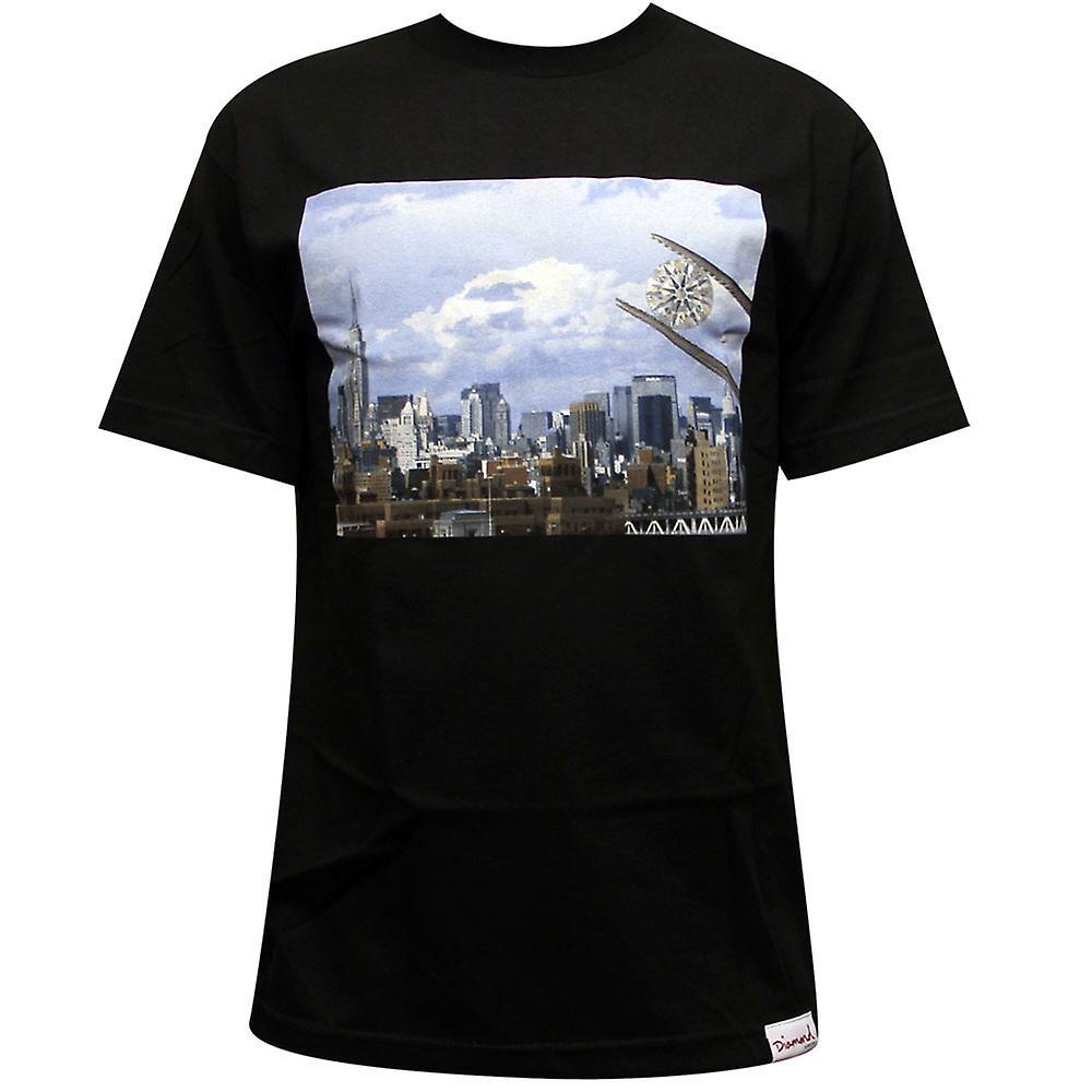 Diamond Supply Co NY Diamond T-shirt Black