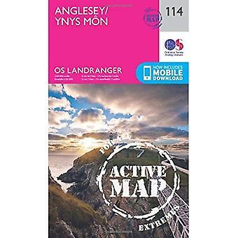 Anglesey (OS Landranger Map)