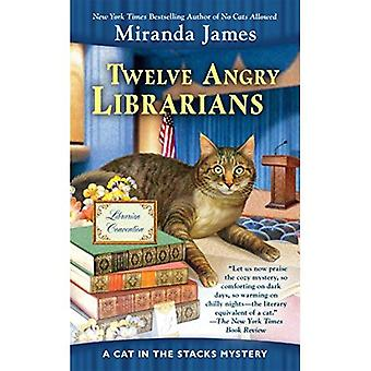 Tolv arga bibliotekarier