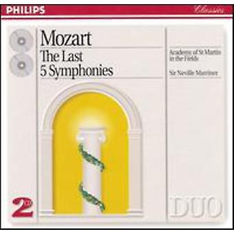 聖マーチン ・ マリナー/アカデミー-の-、-フィールド - モーツァルト:、最後 5 交響曲 [CD] USA 輸入