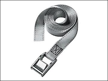 Master Lock Lashing Strap with Metal Buckle 2.5m (Pack of 2)