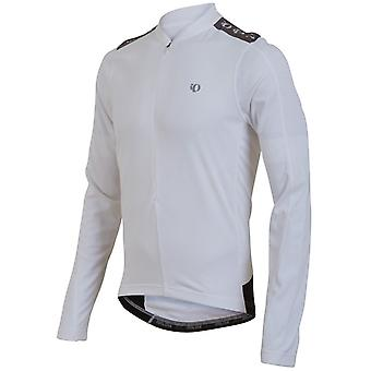 Pearl Izumi White Quest Long Sleeved Cycling Jersey