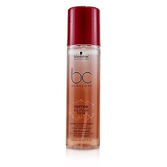 Schwarzkopf BC Bonacure Peptide Repair Rescue Spray Conditioner (For Fine to Normal Damaged Hair) 200ml/6.7oz