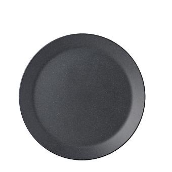 Mepal Bloom Melamine Breakfast Plate, Pebble Black
