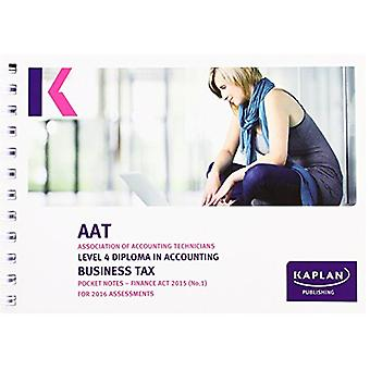 Business Tax - Pocket Notes - 9781784153854 Book