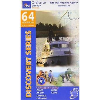 Clare - Kerry - Limerick (4th Revised edition) by Ordnance Survey Ire