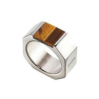 Nomination Italy Stainless Steel Ring - Tigers Eye