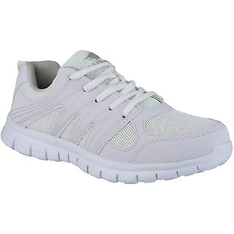 Mirak Mens Milos Lace Up Lightweight Sports Trainers White