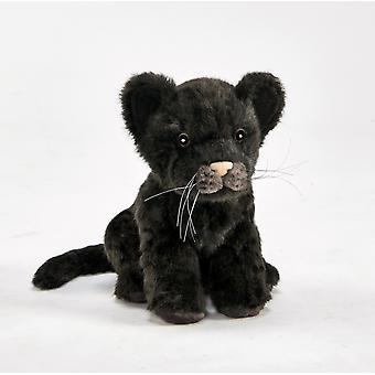Hansa Felpa Black Jaguar cub