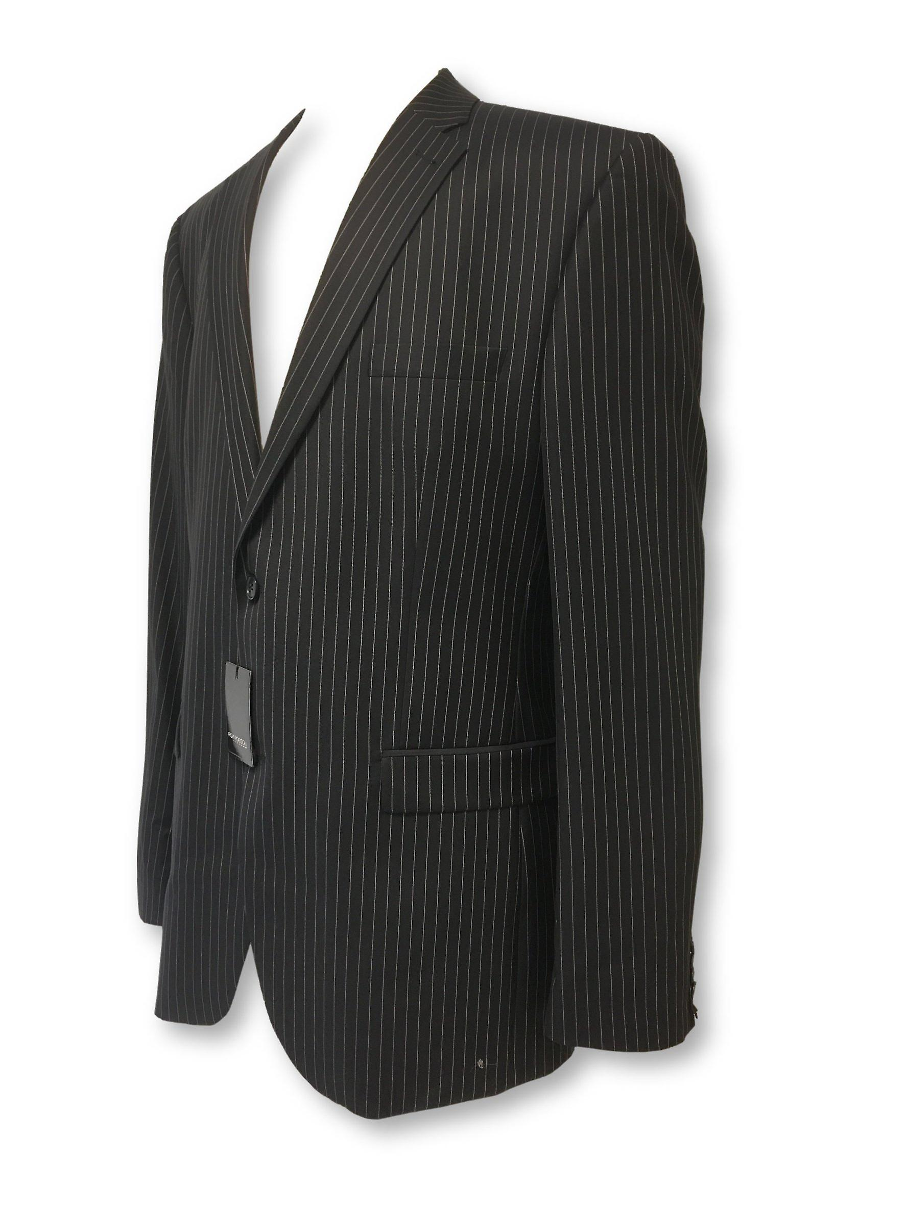 Roy Robson shape 2 piece suit in navy stripe
