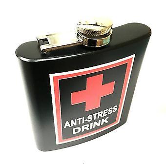 Anti-Stress drink - Hip-flask - fickplunta - 180 ml / 6 oz