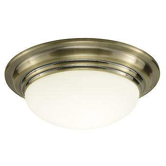 Barclay Flush Grand Antique Brass Ip44