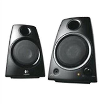 Logitech lgt-z130 pair speakers interface jack 3.5 mm power tot 5w rms color black