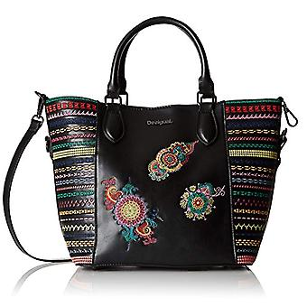 Desigual Bols_delilah Florida Woman Black Bag (Negro) 16.5x25.8x26.2 cm (B x H x T)