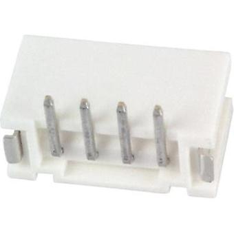 Built-in pin strip (standard) PH Total number of pins 4 JST B4B-PH-SM4-TB (LF)(SN) Contact spacing: 2 mm 1 pc(s)