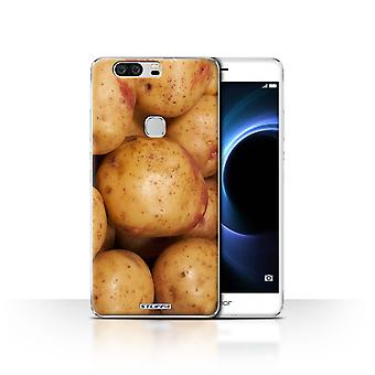 STUFF4 Case/Cover for Huawei Honor V8/Potato/Spud/Food